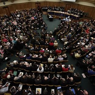 Hillingdon Times: The General Synod failed to approve women bishops in November 2012 when a two-thirds majority could not be achieved