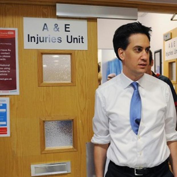 Hillingdon Times: Ed Miliband said Labour's health plan would give NHS patients a greater say on their care
