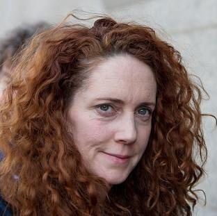 Former News International chief executive Rebekah Brooks arrives at the Old Bailey in London, as the p