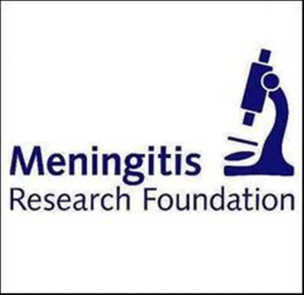 Target: David aims to raise at least £3,000 for the Meningitis Research Foundation