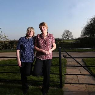 Celia Kitzinger (left) and Sue Wilkinson (right) who lost a legal fight to marry eight years ago will become the first same-sex couple in the