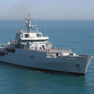Hillingdon Times: Survey ship HMS Echo is helping search for the wreckage of Malaysia Airlines flight MH370 (Royal Navy)