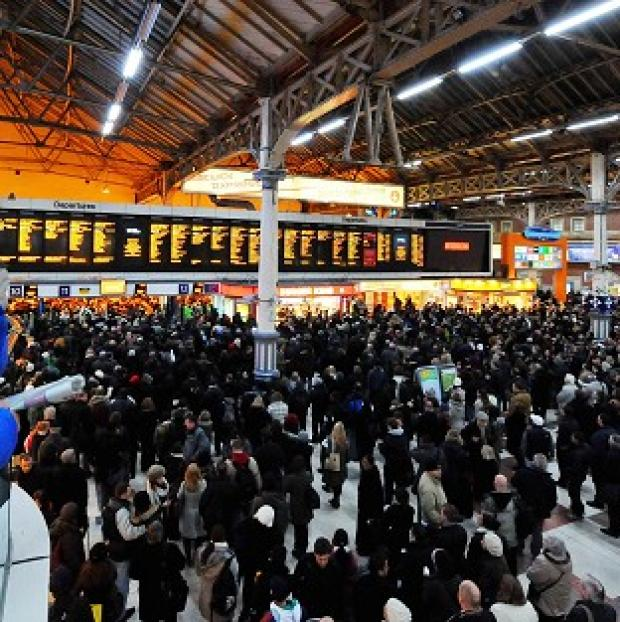 Hillingdon Times: Network Rail has admitted that not enough trains are running on time