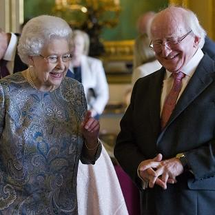 The Queen and Irish preside