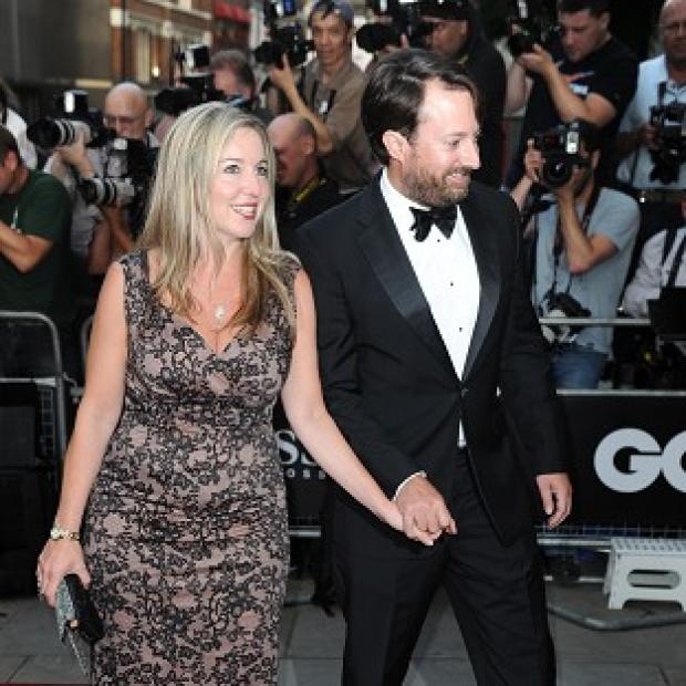 Hillingdon Times: Victoria Coren Mitchell, pictured with her husband David, pulled off a major poker win