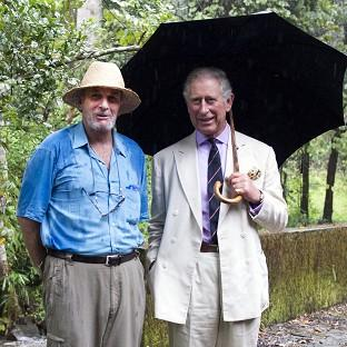 Mark Shand (left), seen here with his brother-in-law the Prince of Wales, has died