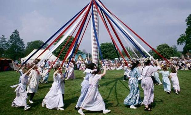 See maypole dancing on The Green at West Drayton