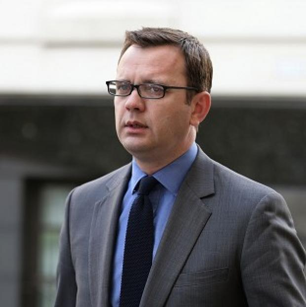 Hillingdon Times: Andy Coulson arrives at the Old Bailey.