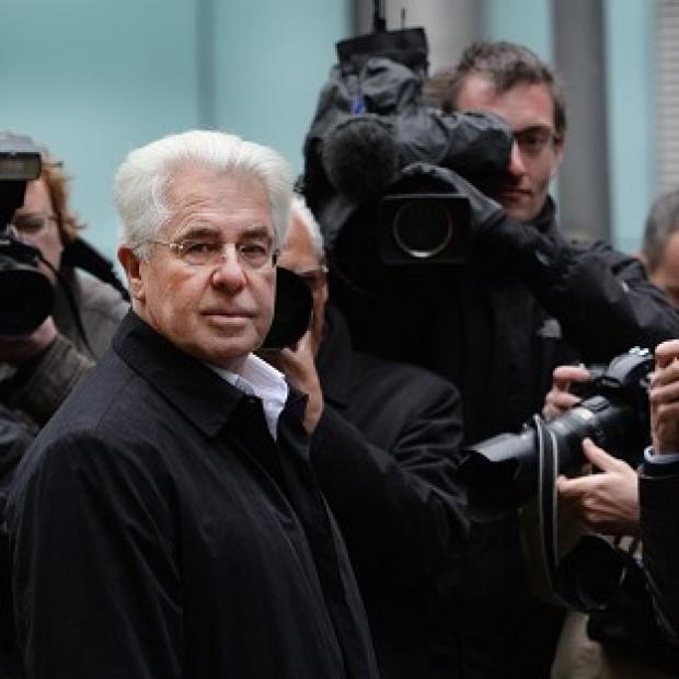 Hillingdon Times: Publicist Max Clifford arriving at Southwark Crown Court in London