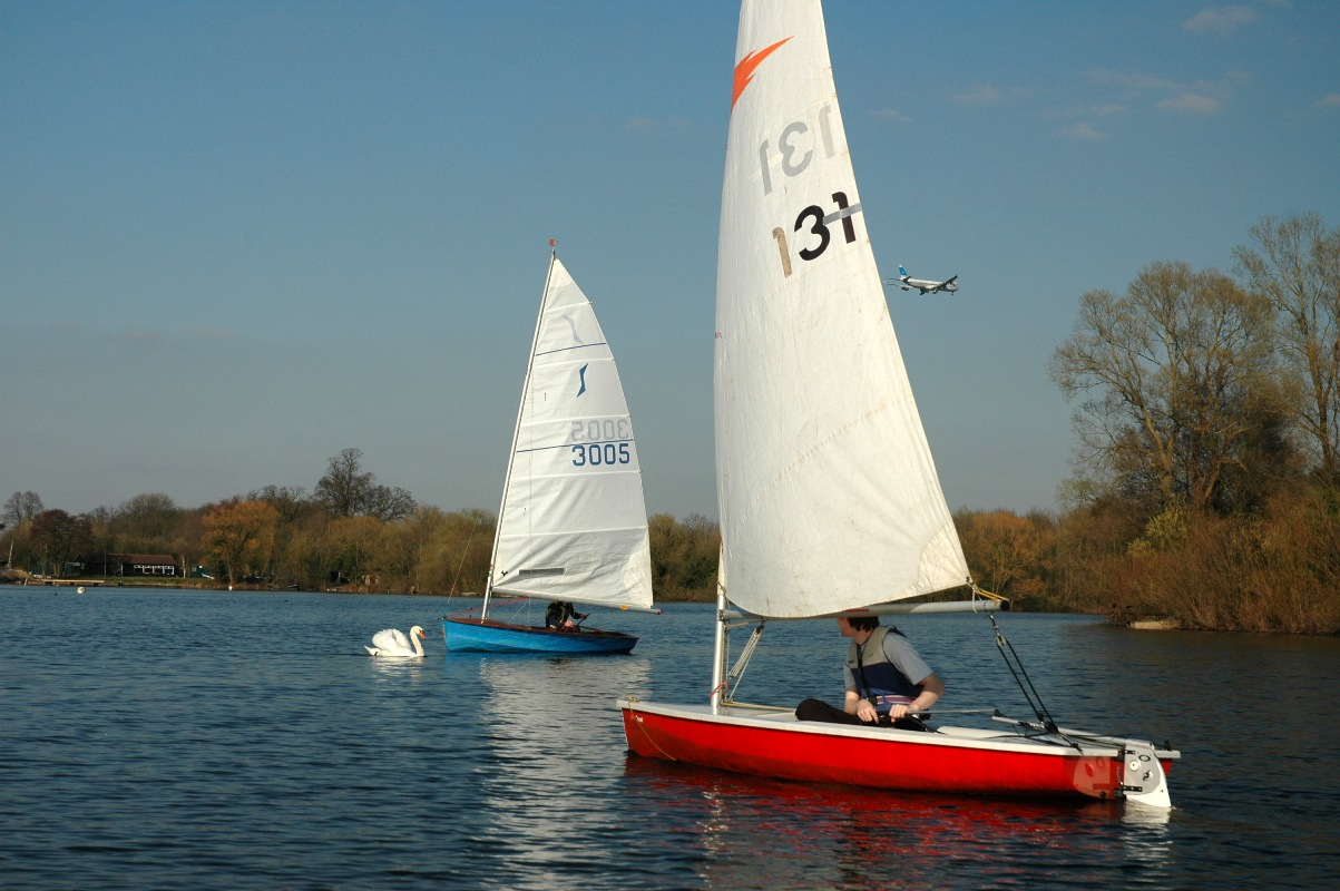 We are sailing: open day at Kingsmead Sailing Club