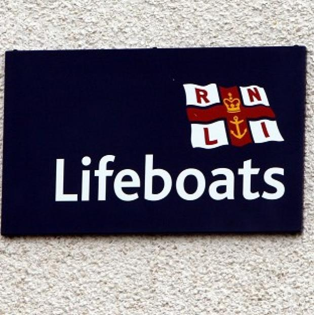 Hillingdon Times: Two RNLI lifeboats and two nearby boats rescued the 12 canoeists