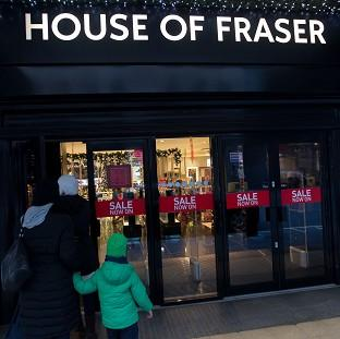 A majority stake in House of Fraser was bought by Chinese conglomerate Sanpower