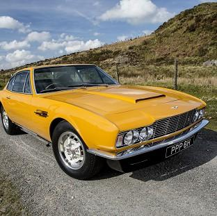 The famed 1970 Aston Martin DBS which starred in the hit British television series The Persuaders! sold for �533,500