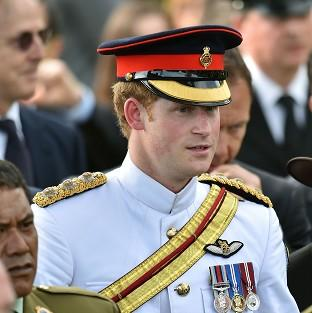 Hillingdon Times: Prince Harry attends a New Zealand commemoration at the Cassino War Cemetery on his tour to Italy
