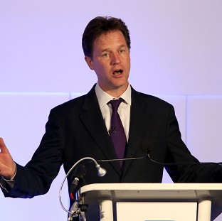 Deputy Prime Minister Nick Clegg refused to make any 'crystal ball-gazing predictions' ahead of Thursday's European Parliament election