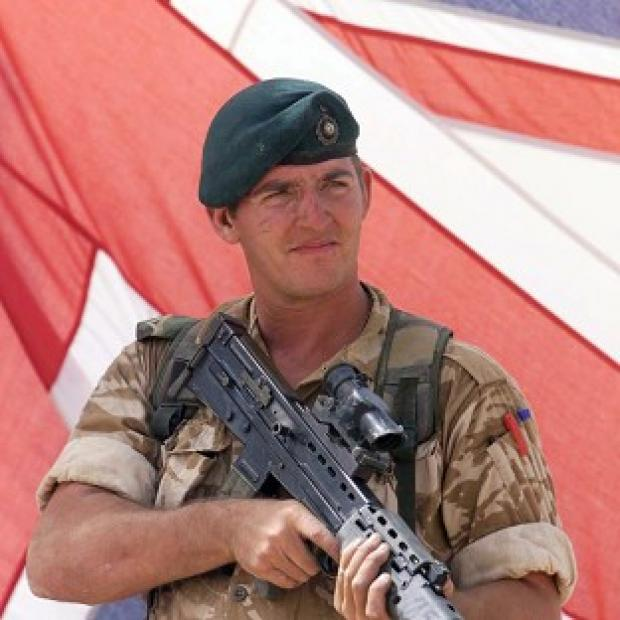 "Hillingdon Times: Sergeant Alexander Blackman was sentenced to life and ""dismissed with disgrace"" from the Royal Marines"