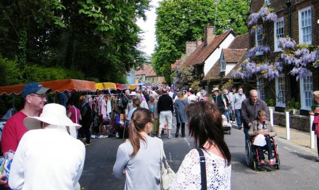 ATTRACTION: Denham Village will be closed off for the annual fair on Monday