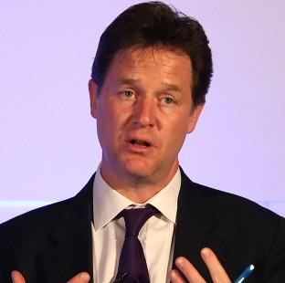 "Hillingdon Times: Nick Clegg insisted that the Lib Dems were ""doing well"" in some areas"