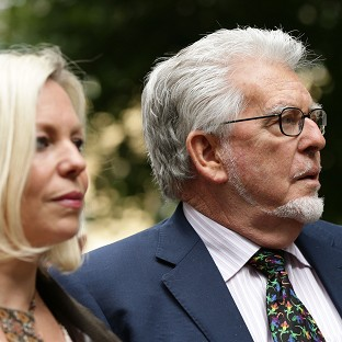 Harris's daughter 'banged her head'