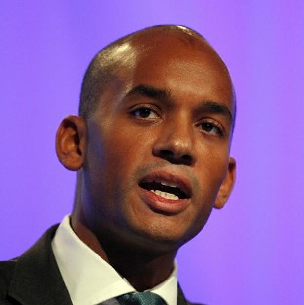 Hillingdon Times: Chuka Umunna cautioned Labour against taking too much pleasure in the collapse of the Liberal Democrats