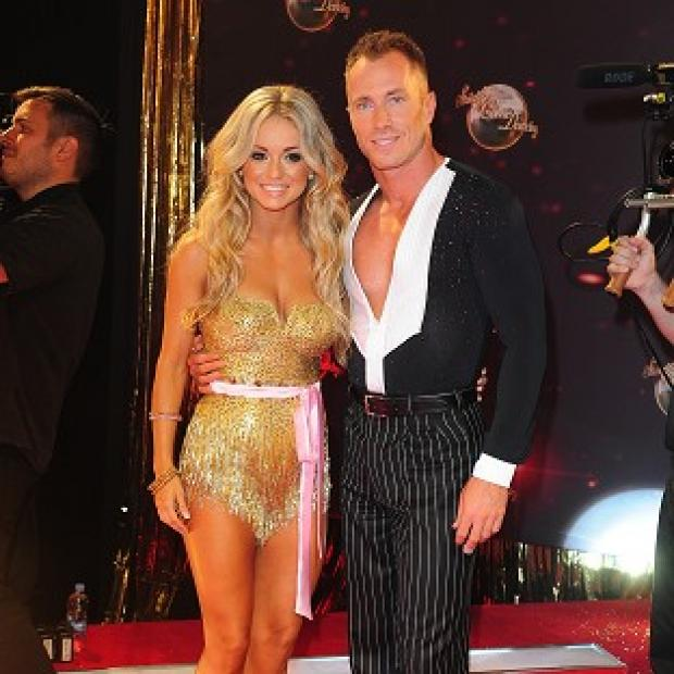 Hillingdon Times: Professional dancer Ola Jordan will return to Strictly Come Dancing but husband James will not.