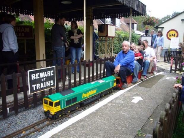 First outing for Ickenham Miniature Railway on Saturday