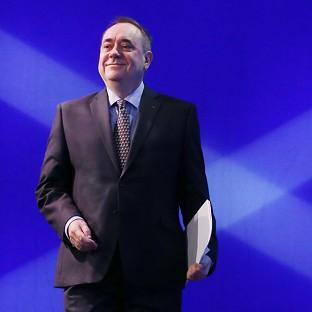 Alex Salmond is confident of a Yes vote in the independence r