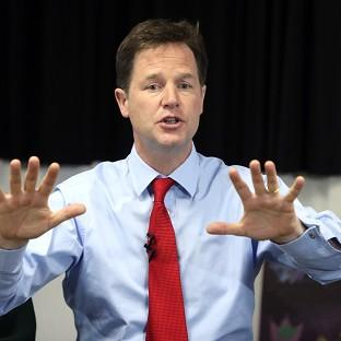 Nick Clegg has sounded a rallying call to the Liberal Democrats after recent poll reverses.