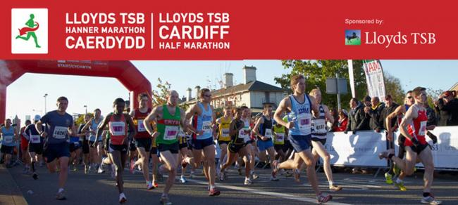 Big race day: the Lloyds Bank Cardiff Half is on October 5 this year