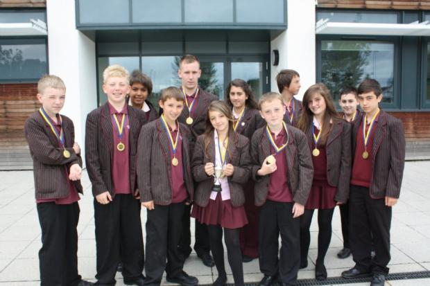 Table toppers: Harefield Academy is known for its excellence in table tennis among many other achievements