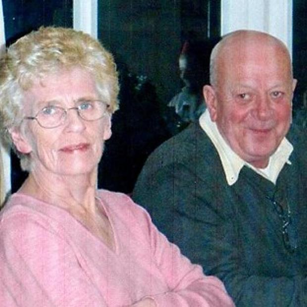 Hillingdon Times: David Tracey with his wife Janet, who he says was subjected to an unlawful do not resuscitate order