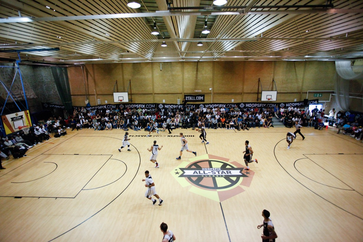 Courtside: all-stars at Brunel
