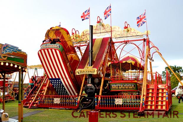 Steaming into town: the Carters Fair