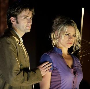 Hillingdon Times: The scene which sees the Doctor say goodbye to companion Rose Tyler has topped a poll SFX magazine (BBC/PA)