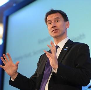 Jeremy Hunt said tough action must be taken to improve cancer diagnosis levels