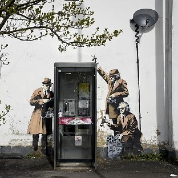 Hillingdon Times: Plans to remove the Banksy artwork have sparked anger