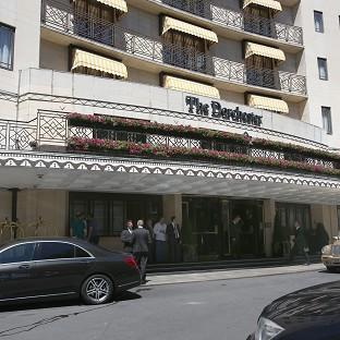 The Dorchester hotel has been targeted by robbers twice in a month