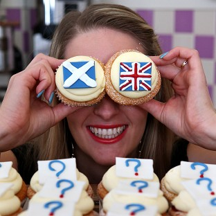 The latest poll by Survation found 41 per cent of those questioned said they support Scottish independence