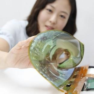 A flexible TV has been unveiled by LG