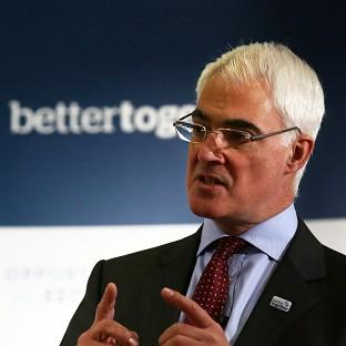 Alistair Darling said Scots