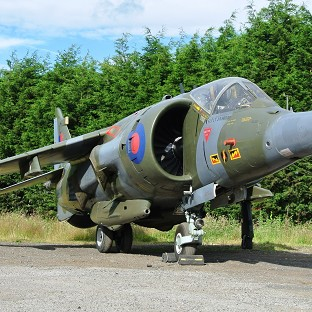 Ex-RAF fighter jets under hammer