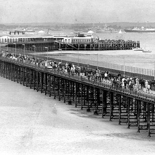 Pioneering pier is 200 years old