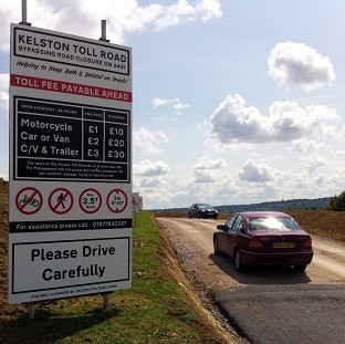 A private toll road that has opened near Bath, avoiding the closed section of the A431 between Bath and Bristol