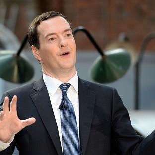 George Osborne said cementing Britain's position as the centre of global finance was key to the Government's economic plan