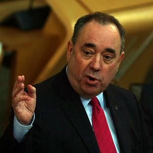 First Minister Alex Salmond has been under pressure to explain his Plan B