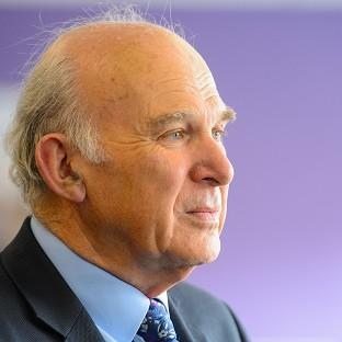 Vince Cable says supporting innovative businesses is crucial to building a stronger ec