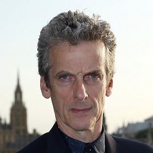 Peter Capaldi has appeared on TV screens as Doctor Who for the first time