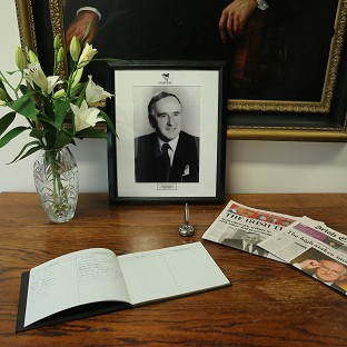 Funeral tributes to Albert Reynolds