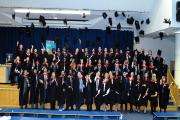 Uxbridge College students graduated in their Higher Education qualifications
