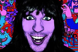 A four-star review of An Evening with Noel Fielding at Watford Colosseum